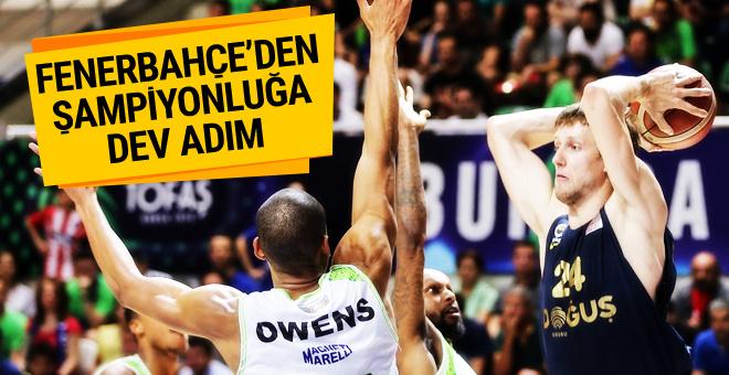 Fenerbahçe Doğuş şampiyonluğa çok yakın