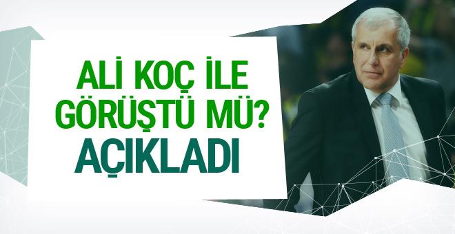 Obradovic'ten Ali Koç açıklaması