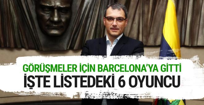Fenerbahçe Barcelona'nın 6 futbolcusu için İspanya'da