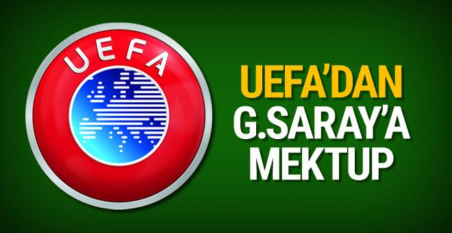 UEFA'dan Galatasaray'a kabul mektubu