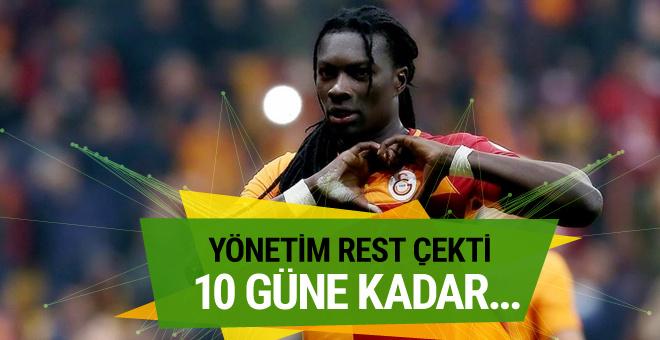 Galatasaray yönetiminden Gomis'e rest