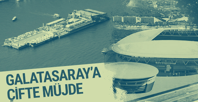 Galatasaray'a çifte müjde!