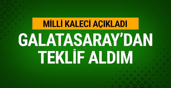 Sinan Bolat: Galatasaray'dan teklif aldım