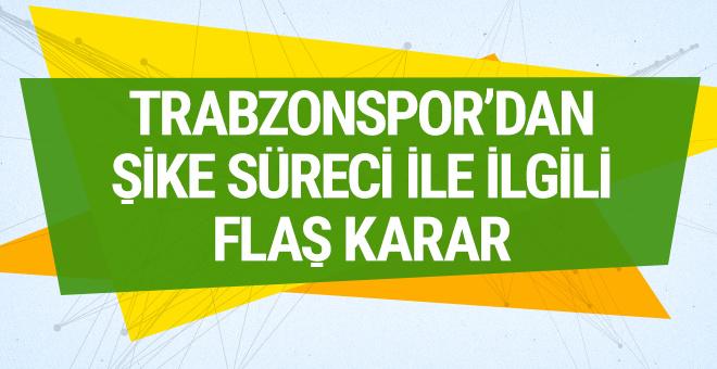 Trabzonspor şike süreciyle ilgili CAS'a başvurdu