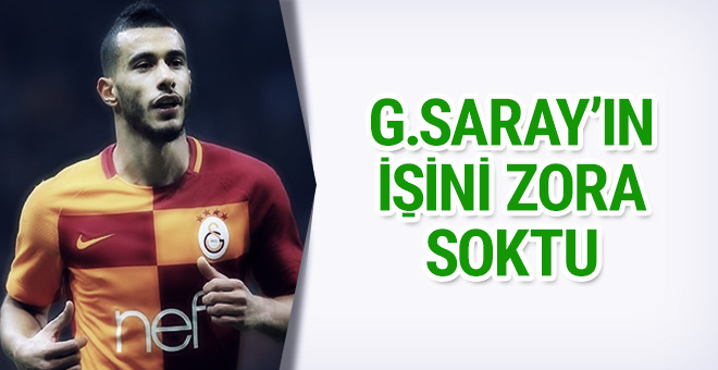 Belhanda Galatasaray'ı zora soktu