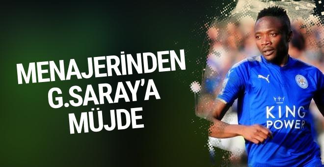 Ahmed Musa'nın menajerinden Galatasaray'a müjde