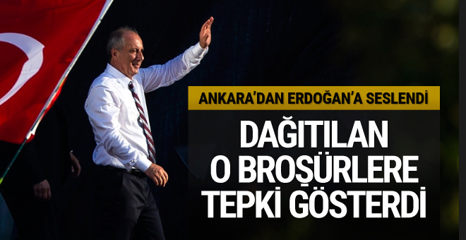 Muharrem İnce'den Tandoğan'da miting