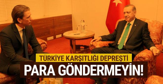 Türkiye'ye tehdit: AB, Türkiye'ye para göndermesin