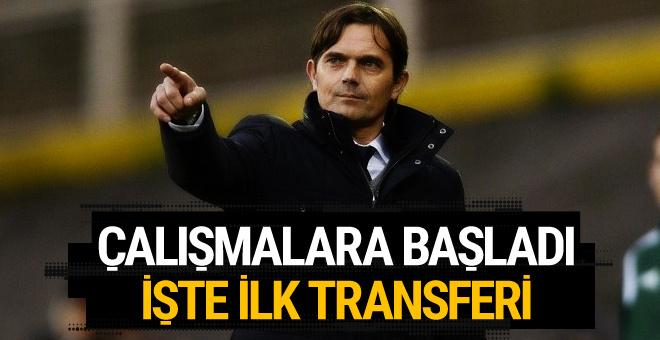 Fenerbahçe'de Phillip Cocu'nun ilk transferi