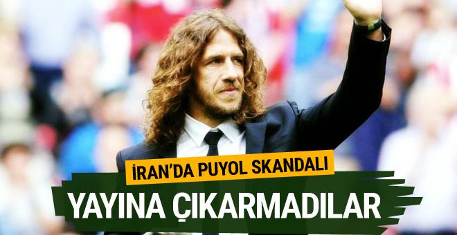 Puyol'un uzun saçları İran'da programı iptal ettirdi