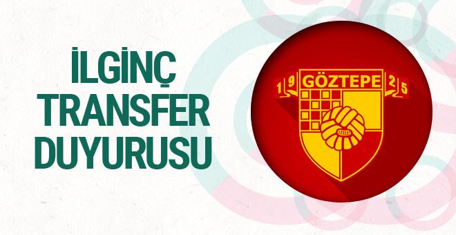 Göztepe'den ilginç yeni transfer duyurusu