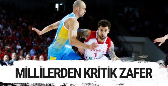 Milliler FIBA Dünya Şampiyonası'nda Ukrayna'yı devirdi