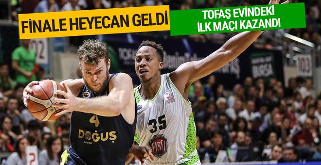 TOFAŞ Fenerbahçe Doğuş'u devirdi serideki ilk galibiyetini aldı