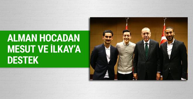 Alman teknik direktör Klopp'tan Özil ve Gündoğan'a destek
