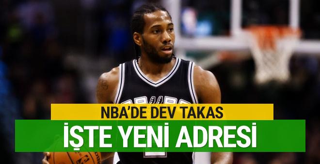NBA'de merakla beklenen takas gerçekleşti