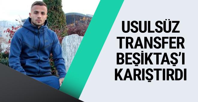Beşiktaş'ı karıştıran usulsüz transfer iddiasında son durum