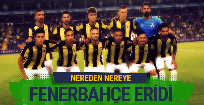 Fenerbahçe'nin kadro değeri çakıldı!