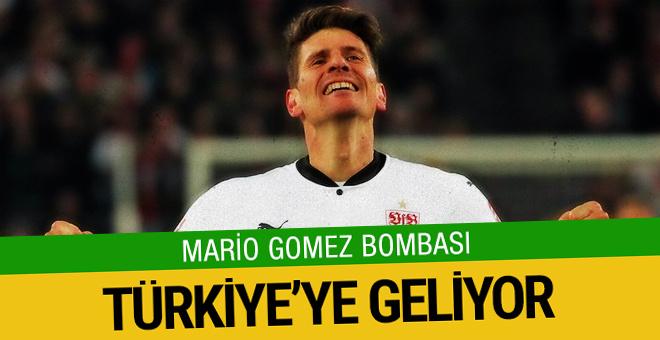 Göztepe'nin hayali Mario Gomez