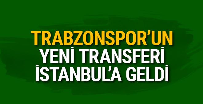 Trabzonspor'un yeni transferi İstanbul'da