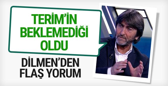 Rıdvan Dilmen'den Fatih Terim yorumu