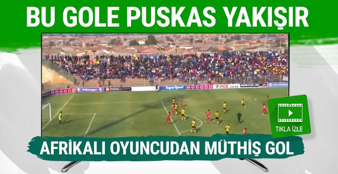 Luckyboy Mokoena'dan müthiş gol