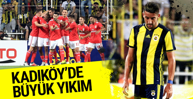 Fenerbahçe Benfica maçı golleri ve geniş özeti