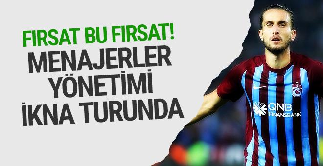 Trabzonspor yönetimini ikna için uğraşıyorlar