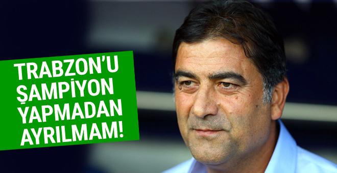Ünal Karaman'dan iddialı şampiyonluk açıklaması