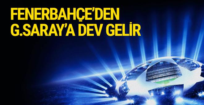 Fenerbahçe'nin yayın geliri Galatasaray'a kaldı