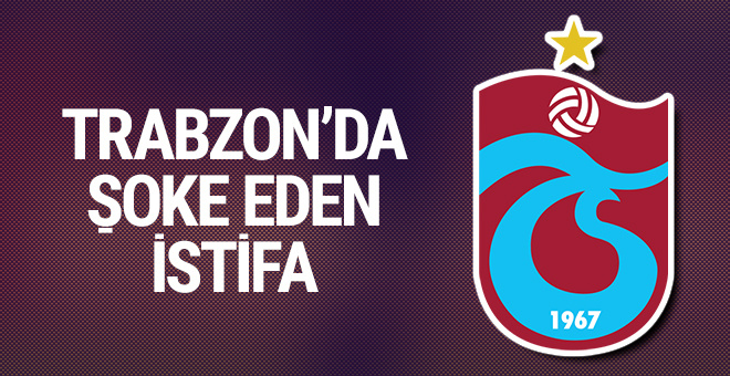 Trabzonspor'da Özkan Sümer istifa etti