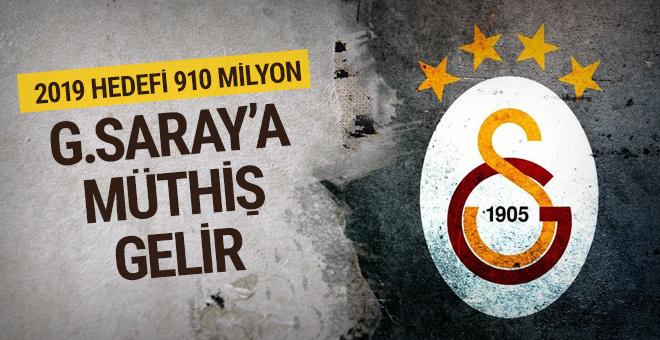Galatasaray'ın müthiş gelir hedefi: 910 milyon TL!