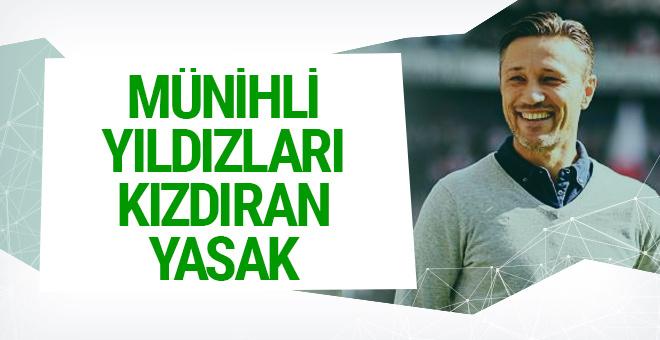 Niko Kovac'ın yasağı futbolcuları kızdırdı