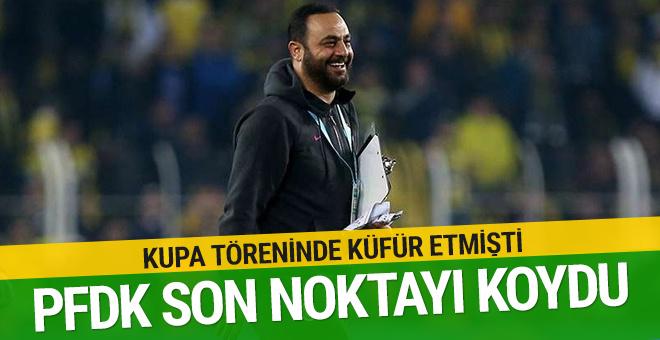 PFDK Hasan Şaş'a ceza vermedi