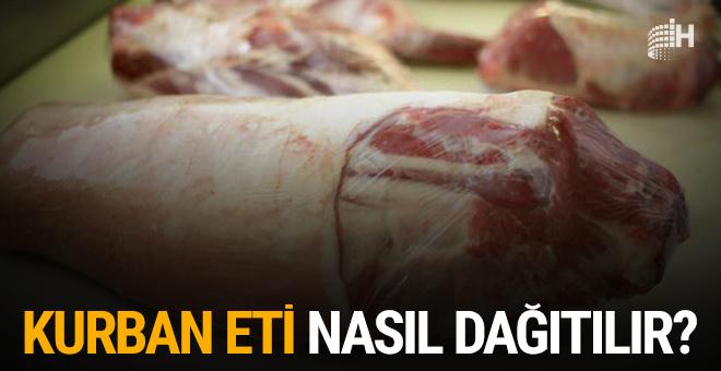 Kurban eti nasıl dağıtılır?