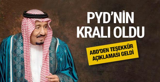 Suudi Arabistan'dan PYD bölgesine 100 milyon dolar bağış