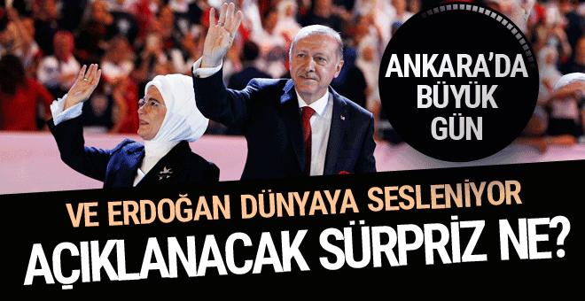 AK Parti'de seçim günü yönetim değişiyor Erdoğan'dan dünyaya mesaj
