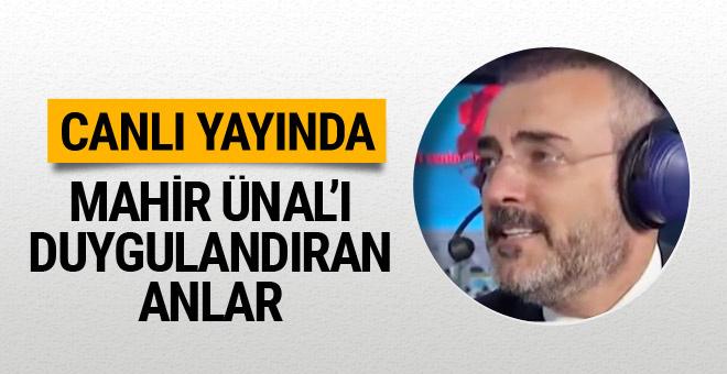 AK Parti Sözcüsü Mahir Ünal'ın salonda duygulandığı anlar!