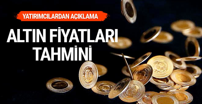 Altın fiyatları seneye kaç lira olacak? Yatırımcılar açıkladı