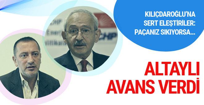 Fatih Altaylı'dan Kılıçdaroğlu'na: Paçanız sıkıyorsa...
