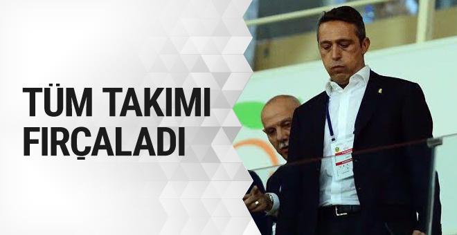 Ali Koç'tan futbolculara uyarı