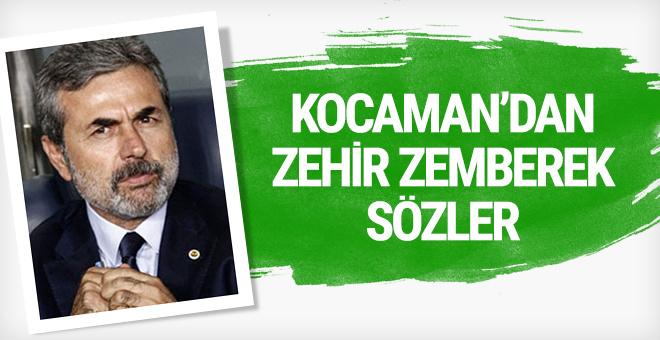 Aykut Kocaman'dan zehir zemberek açıklama