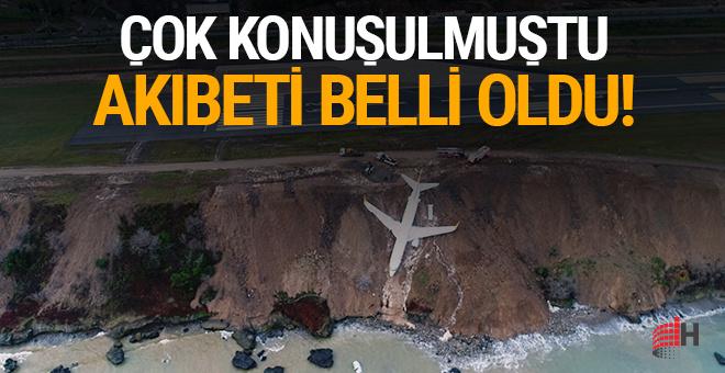 Pistten çıkan uçak çok konuşulmuştu: Akıbeti belli oldu!