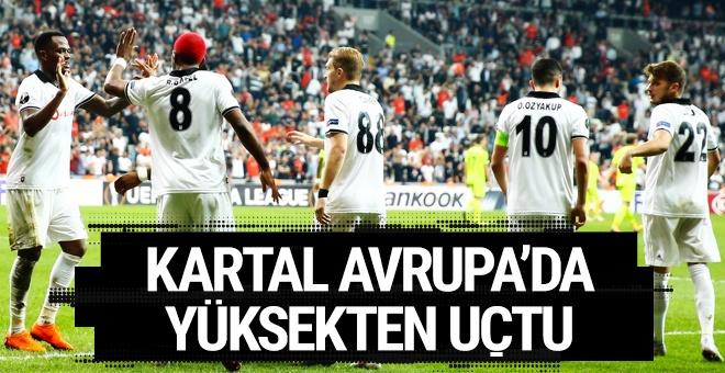 Beşiktaş Sarpsborg'u devirdi: Avrupa Ligi'ne 3 puanla başladı!