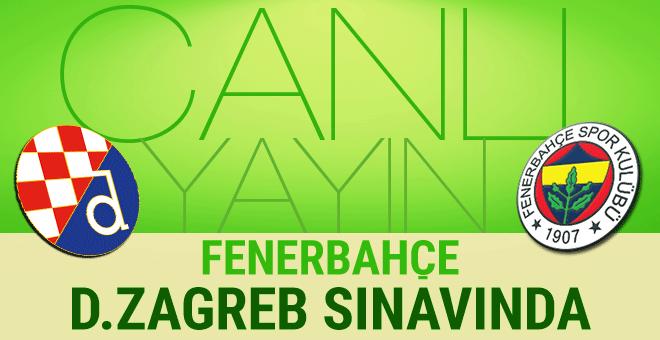 Kanarya Zagreb deplasmanında! Dinamo Zagreb - Fenerbahçe CANLI YAYIN