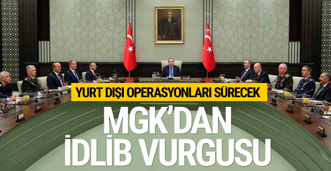 MGK'dan yurtdışı operasyonlarıyla ilgili açıklama