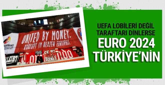 UEFA taraftarları dinlerse EURO 2024 Türkiye'nin olabilir!
