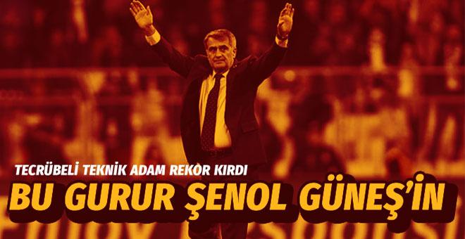 Şenol Güneş, Süper Ligdeki 300. galibiyetini aldı