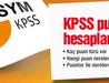 KPSS'de kaç puan türü var nerelere başvuruluyor