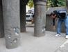 Diyarbakır'daki çatışmalarda tarihi minare hasar gördü