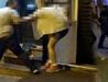 Kadını sürükleyen kişiye meydan dayağı kamerada